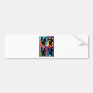 "Kolorful ""Kriss"" Bumper Sticker"