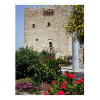 Kolossi Castle, near Limassol, Cyprus Postcard