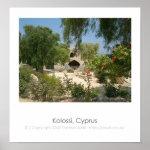 Kolossi Cyprus Poster