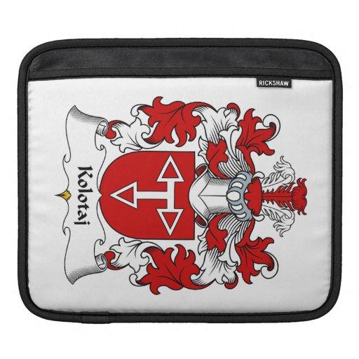 Kolotaj Family Crest Sleeves For iPads