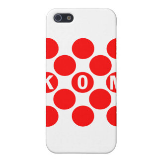 KOM Red Dots Covers For iPhone 5