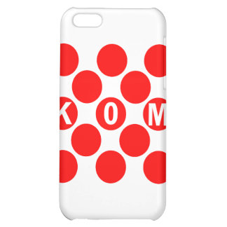 KOM Red Dots Case For iPhone 5C