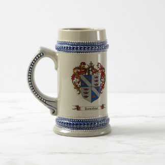 Komadina Shield of Arms Beer Stein