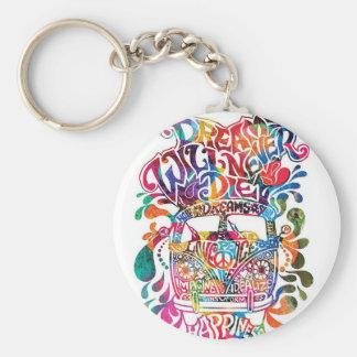 Kombi hippie keychain