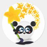 Koment the Panda - Painting Sticker