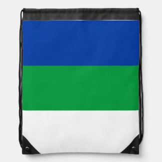 Komi Flag Drawstring Bag