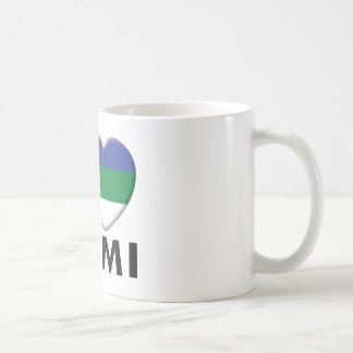 Komi Love Classic White Coffee Mug