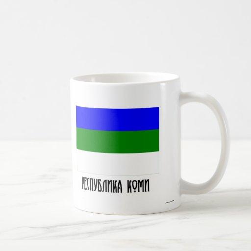 Komi Republic Flag Mug