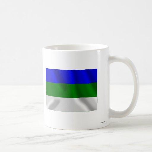 Komi Republic Flag Coffee Mug