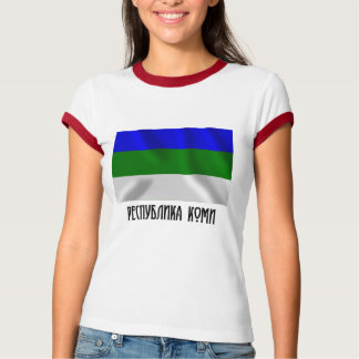Komi Republic Flag T-Shirt