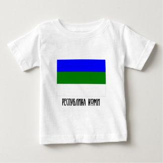 Komi Republic Flag Infant T-shirt