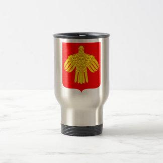 Komi Republic Official Coat Of Arms Heraldry 15 Oz Stainless Steel Travel Mug