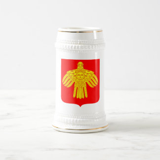 Komi Republic Official Coat Of Arms Heraldry 18 Oz Beer Stein
