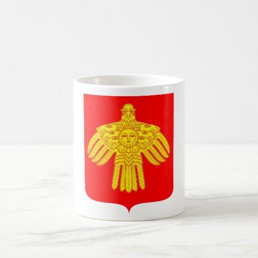 Komi Republic Official Coat Of Arms Heraldry Mugs