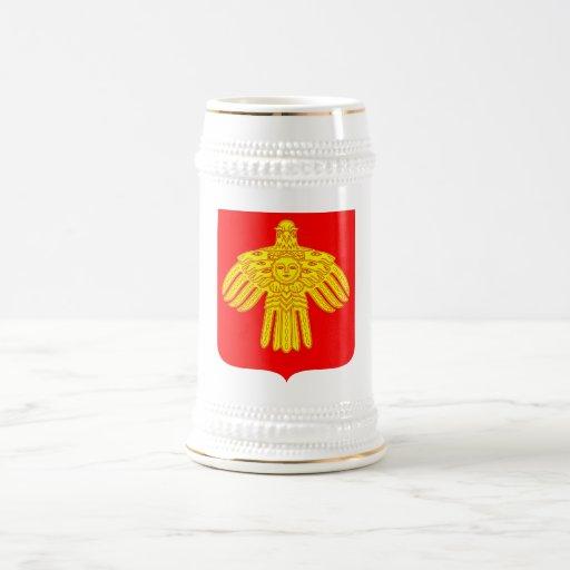Komi Republic Official Coat Of Arms Heraldry Coffee Mug