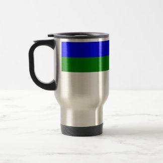 Komi, Russia flag 15 Oz Stainless Steel Travel Mug