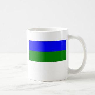 Komi, Russia flag Classic White Coffee Mug