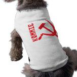 KOMMIEHAMMERANDSICKLE2 DOG T-SHIRT