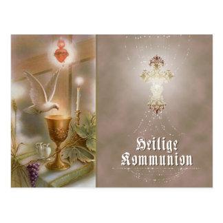 Kommunion - Einladungs- / Postkarte Postcard