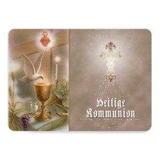Kommunion - Einladungskarte Card