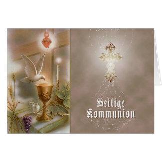 Kommunion - Glückwunschkarte Card