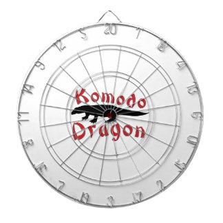 Komodo Dragon Dartboard With Darts