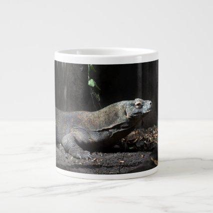 komodo dragon right extra large mugs