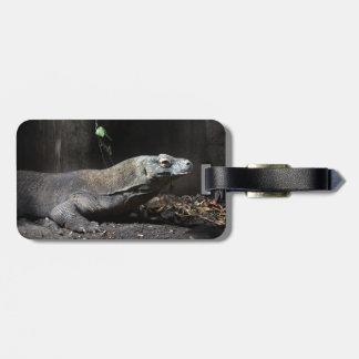 komodo dragon right tag for luggage