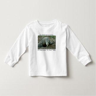Komodo Dragon Take Action T-shirt