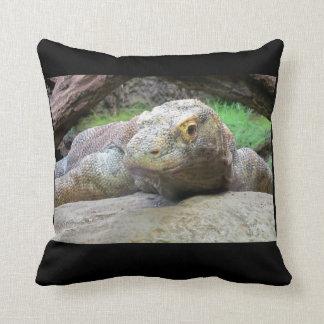 Komodo Dragon Throw Pillows