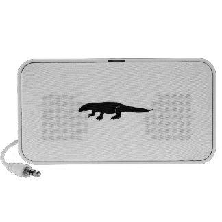Komodo Silhouette Mp3 Speakers