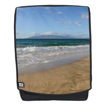 Beach Themed Komohana Volcano in Maui Hawaii Backpack