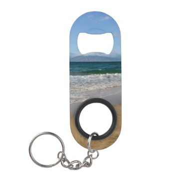 Beach Themed Komohana Volcano in Maui Hawaii Keychain Bottle Opener