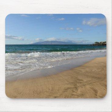 Beach Themed Komohana Volcano in Maui Hawaii Mouse Pad