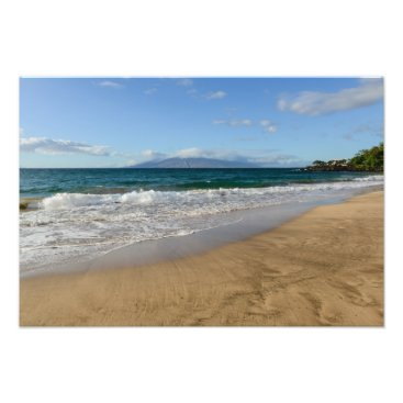 Beach Themed Komohana Volcano in Maui Hawaii Photo Print