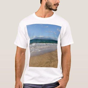 Beach Themed Komohana Volcano in Maui Hawaii T-Shirt