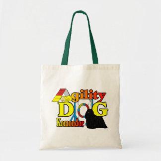 Komondor Agility Gifts Tote Bag