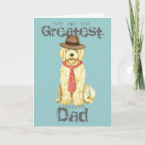 Komondor Dad Card