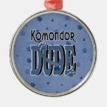 Komondor DUDE Ornament