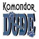 Komondor DUDE Photo Sculpture