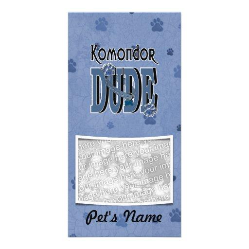 Komondor DUDE Picture Card