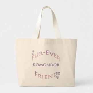 Komondor Furever Large Tote Bag
