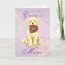 Komondor Heart Mom Card