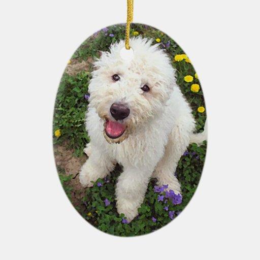 Komondor Pup II ornament