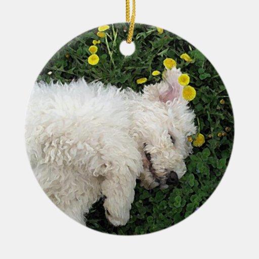 Komondor Pup ornament