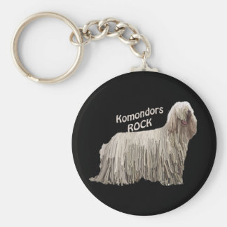 Komondors Rock Keychain