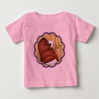 Komorner Tumbler Woodgrain Baby T-Shirt