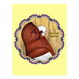 Komorner Tumbler Woodgrain Postcard