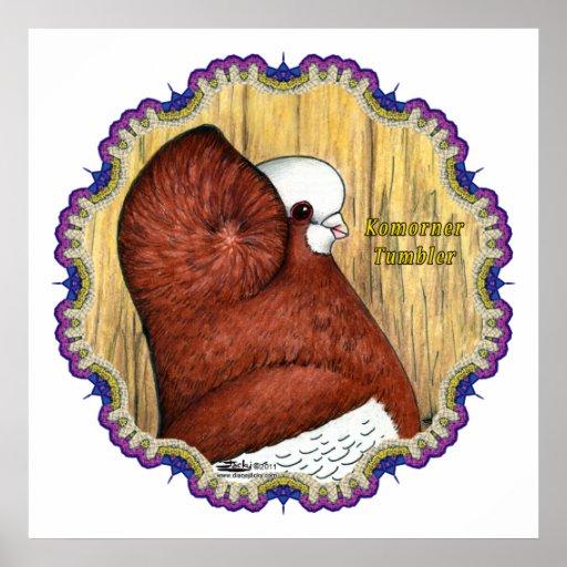 Komorner Tumbler Woodgrain Poster