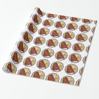 Komorner Tumbler Woodgrain Wrapping Paper